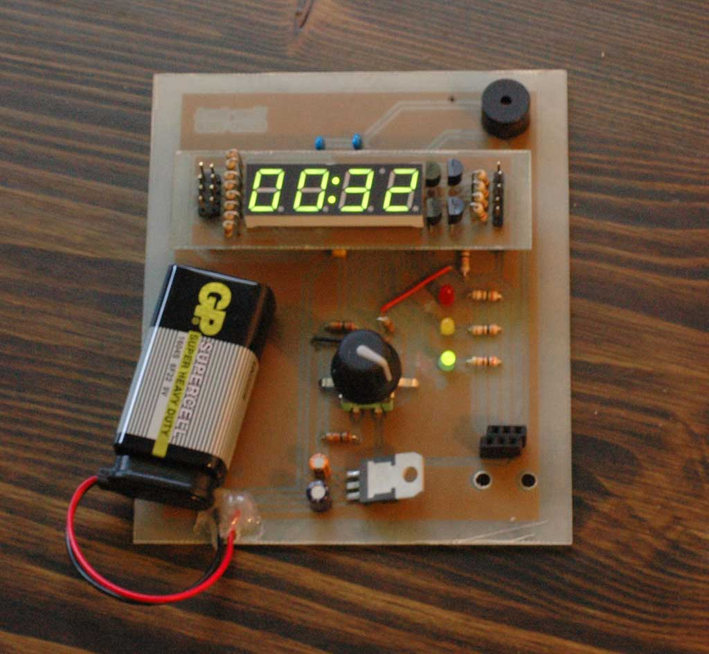Rotary Encoder Based Cooking Timer